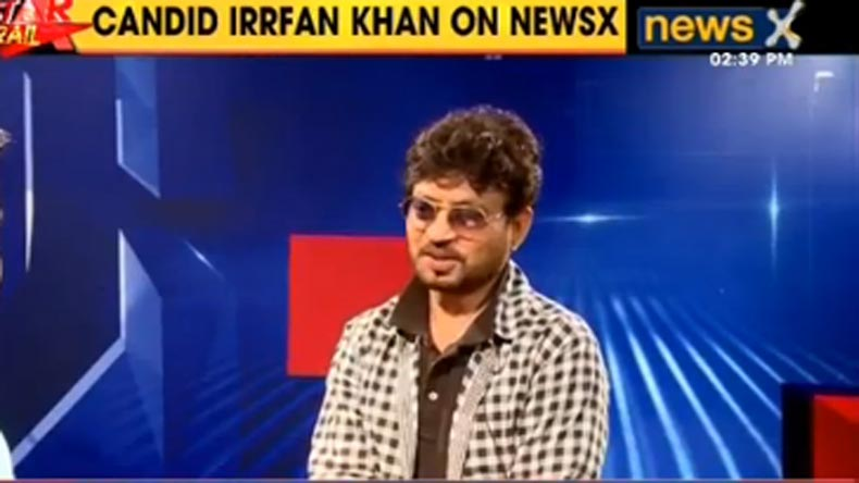 Irrfan Khan In A Candid Conversation With Newsx About His Upcoming